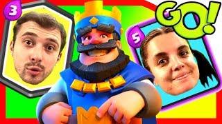 Болтушка и ПРоХоДиМеЦ Нашумели в замке ПРОТИВНИКА! #344 Мультик игра детям - Clash Royale