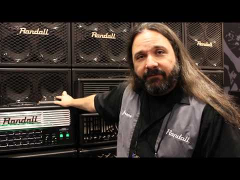 Randall Amplifiers' Jason Frankhouser at 2016 NAMM
