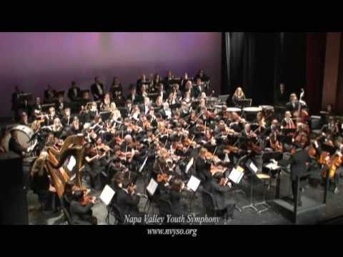 Napa Valley Youth Symphony plays Danse Bacchanale by Saint ...