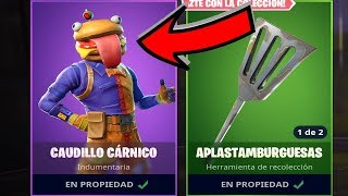 🍔NEW SKIN OF HAMBURGUESA🍔 FORTNITE: Battle Royale