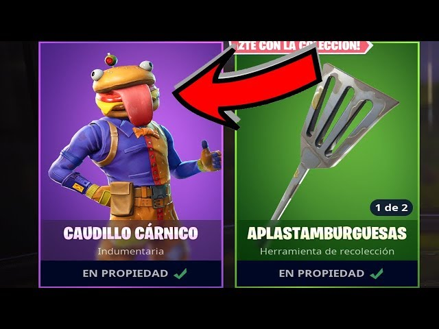 ????NUEVA SKIN DE HAMBURGUESA???? | FORTNITE: Battle Royale