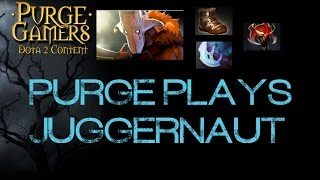 Dota 2 Purge plays Juggernaut