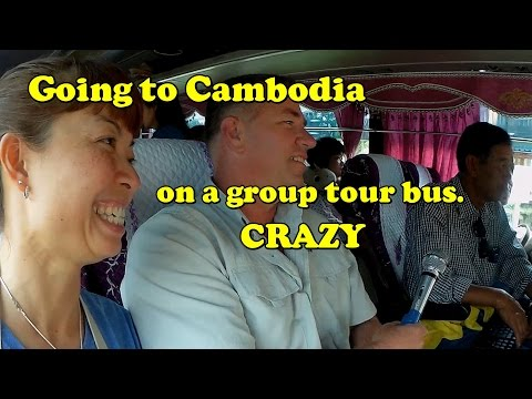 Cambodia Bus Tour from Isaan Thailand