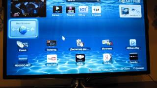 подключение интернета и мышки к телевизору SAMSUNG UE32ES6550S