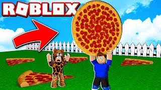 ROBLOX's LARGEST PIZZA in the WORLD