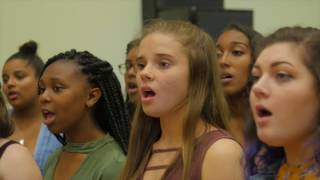 "Summer Recording Workshop sings ""Because"" by The Beatles"