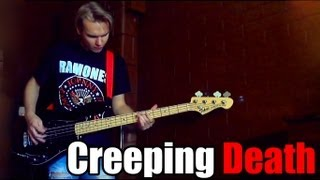 Metallica - Creeping Death ( BASS COVER )
