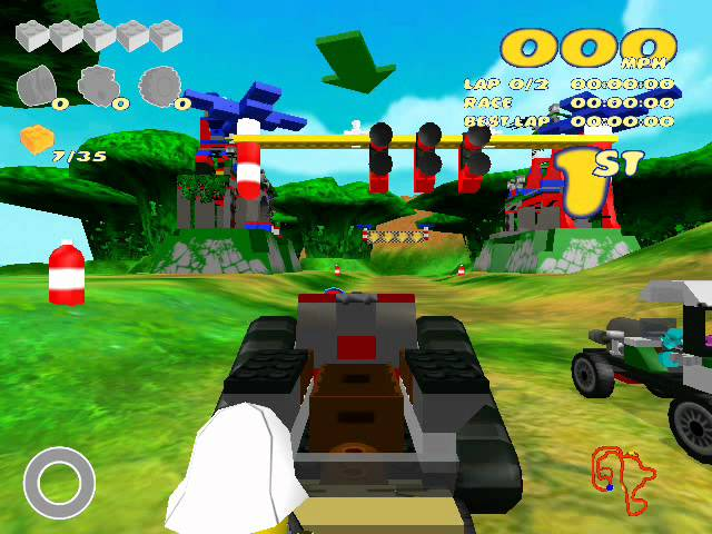 Lego Racers 2 (PC) Walkthrough (1/2)