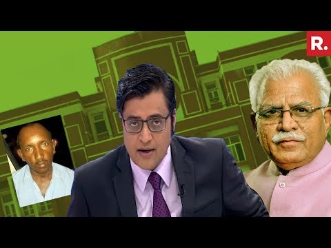 Arrogant CM Manohal Lal Khattar DARES Bus Conductor Ashok To Sue Him | The Debate With Arnab Goswami