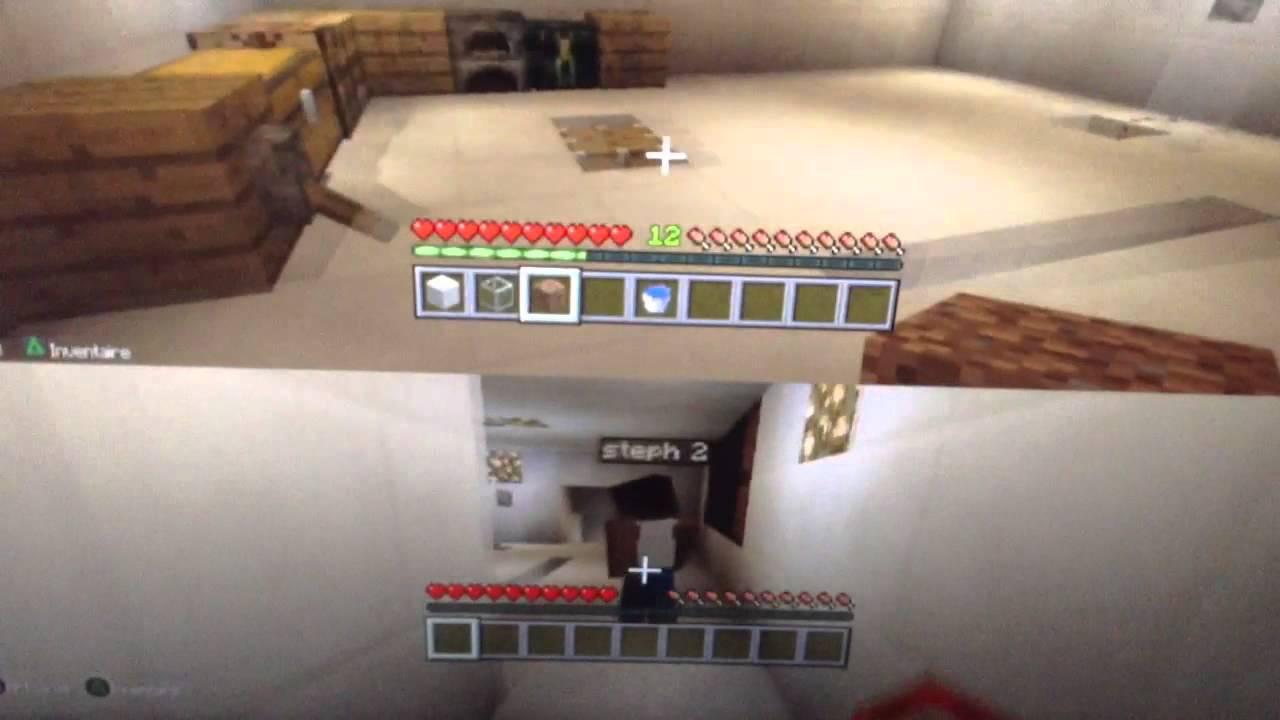 minecraft ps3 pr sentation de la maison du futur. Black Bedroom Furniture Sets. Home Design Ideas