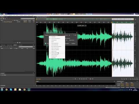[Tutorial] Adobe Audition - Fadeout, Ausblenden Musik CS 5 & 6[HD+]