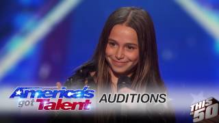 Gambar cover Sky Katz on Being on 'America's Got Talent; at 11 Years Old ; Millions of Views ; Freestyle