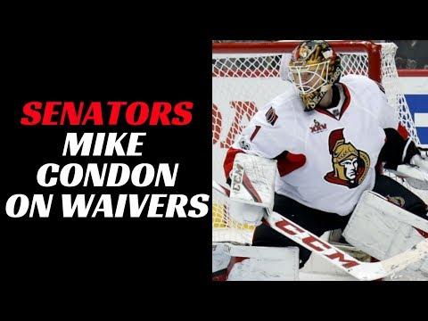Senators Goalie Mike Condon on Waivers