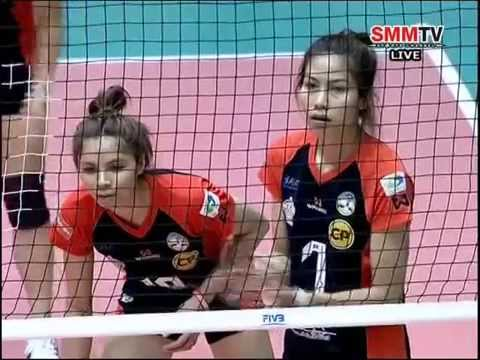 Vietnam vs Thailand - 2014 Asian Women's Club Championship