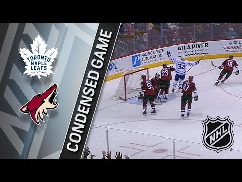 Toronto Maple Leafs vs Arizona Coyotes – Dec. 28, 2017 | Game Highlights | NHL 2017/18. Обзор матча