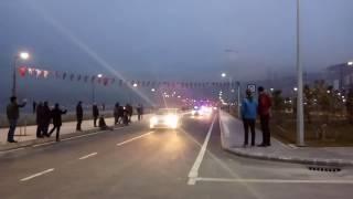 Takım Otobüsünün Stada Girişi Alanyaspor Maçı