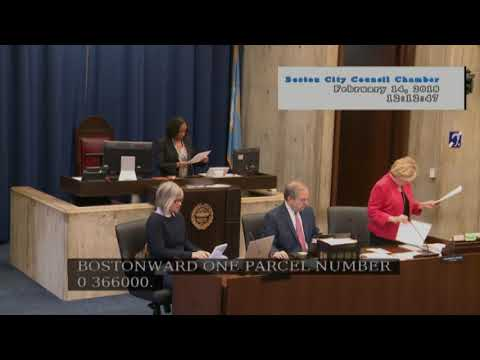 Boston City Council Meeting on February 14, 2018