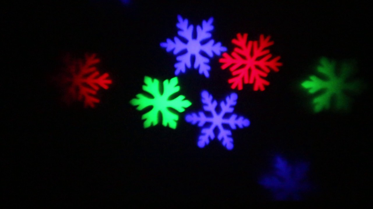 Rgb rotating snowflake led light projector xmas holiday light for rgb rotating snowflake led light projector xmas holiday light for indoor and outdoor use multi workwithnaturefo
