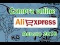 Compras en Aliexpress Agosto 2016