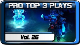 PRO TOP 3 PLAYS #26 | ALOHADANCE / Miracle- / Xcalibur | Dota 2
