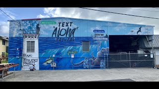 Fishing for Hope - Suicide Prevention Mural - M. Tanaka Store