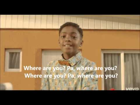Stromae - Papaoutai Official Lyrics with pictures / English