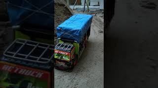 mobil remot truk angkut barang versi indonesia