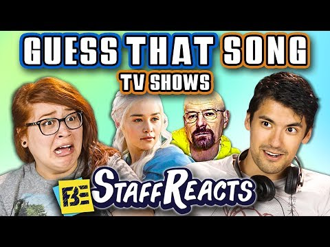GUESS THAT SONG CHALLENGE: TV SHOWS #2! (ft. FBE STAFF)