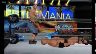 WWE '13 for Dolphin Emulator/PC/Wii Gameplay, Full Speed 60FPS