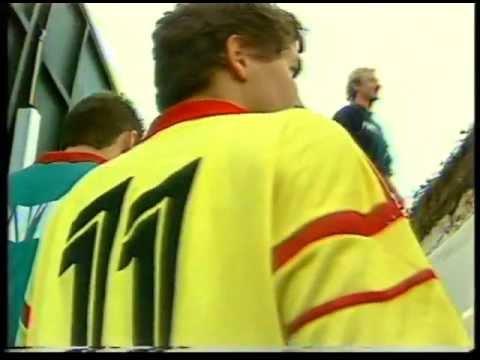 il-primo-allenamento-dell'ungherese-istvan-vincze-allo-stadio-'via-del-mare'-nell'ottobre-1988