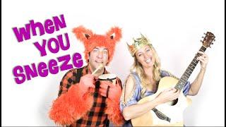 Sneeze Into Your Sleeve, Children's Song, Kids Songs & Nursery Rhymes, Princess & Fox, Opera4Kids