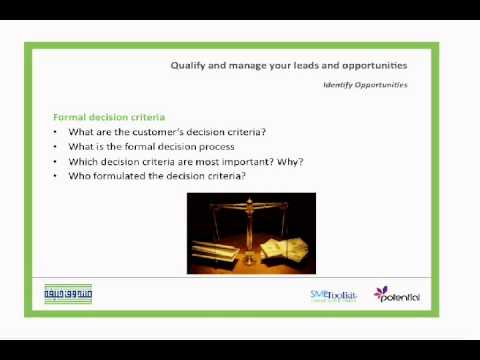 How to Qualify Sales Opportunities ,