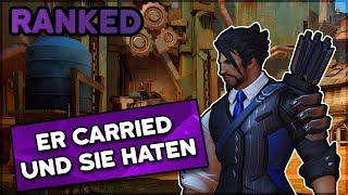 Er carried und sie haten? • Overwatch Ranked