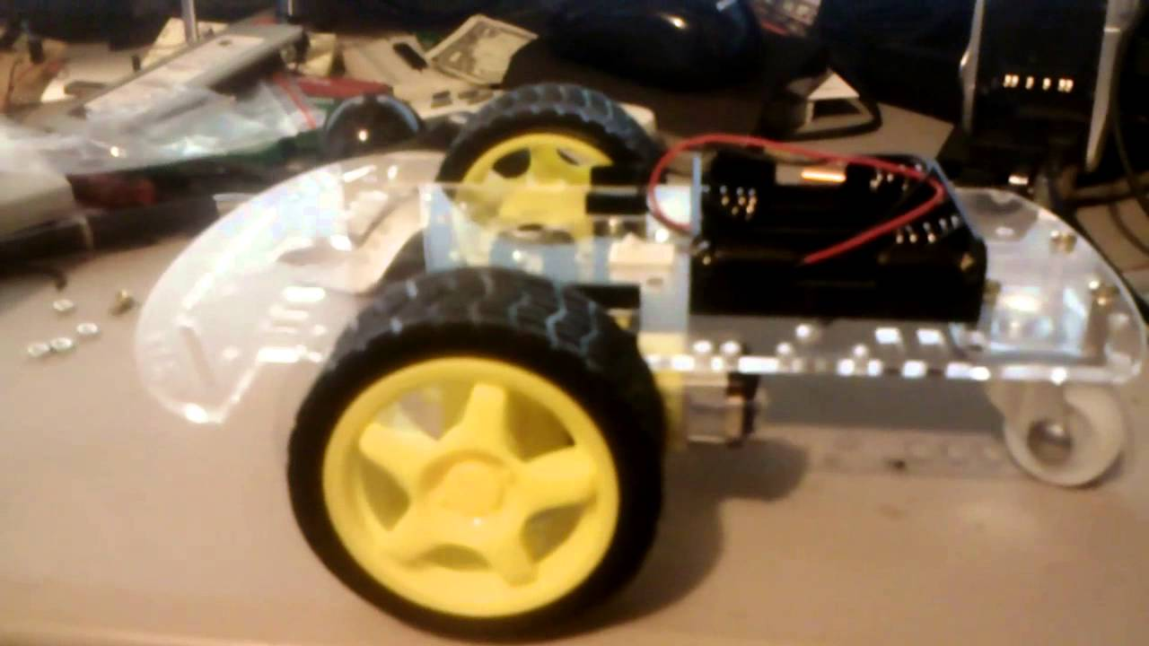 Smart Robot Car Chassis Kit Unboxed And Build Youtube