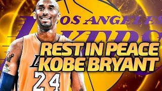 KOBE BRYANT LAKERS REBUILD! NBA 2K20! RIP MAMBA