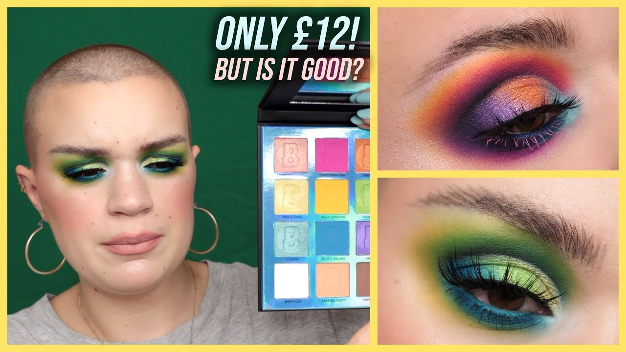 Bright 16 Colour Palette by Beauty Bay #7