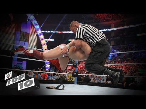 Thumbnail: Guest Referees Wreck Superstars: WWE Top 10