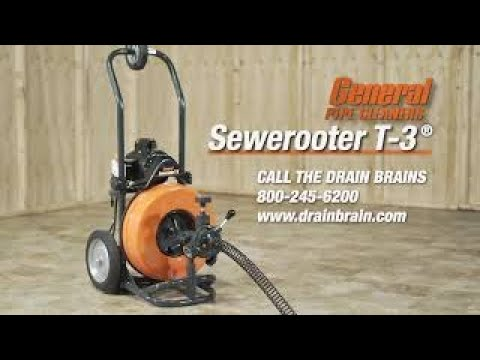 Sewerooter T-3 Instructional Video