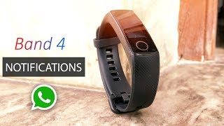 UNBOXING Honor Band 4 - FEATURES, HOW TO USE, NOTIFICATIONS | HINDI