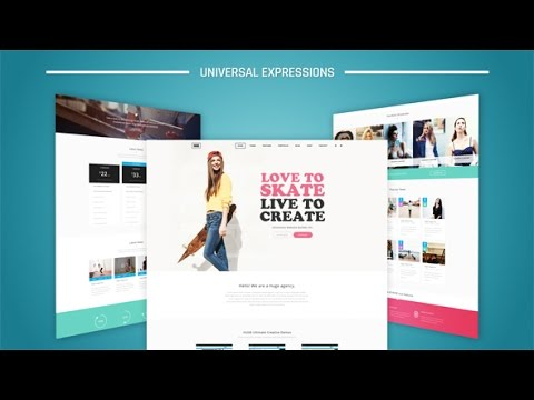 simple website presentation | after effects template - youtube, Presentation templates