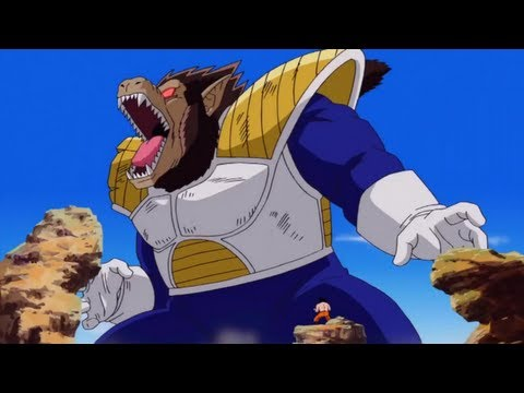 DragonBall Z Ultimate Tenkaichi Cutscene: Vegeta Turns into a Great Ape [720p HD]