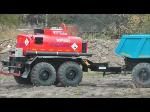 Прицеп--цистерна 4м³  ПЦ-4 УСТ--94651 Id4699 (пробный)