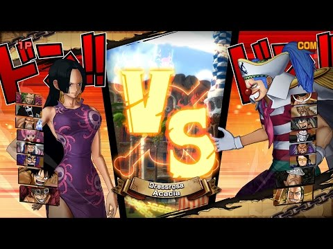 One Piece: Burning Blood | 9v9: Paramecia