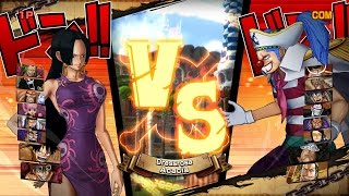 One Piece: Burning Blood   9v9: Paramecia