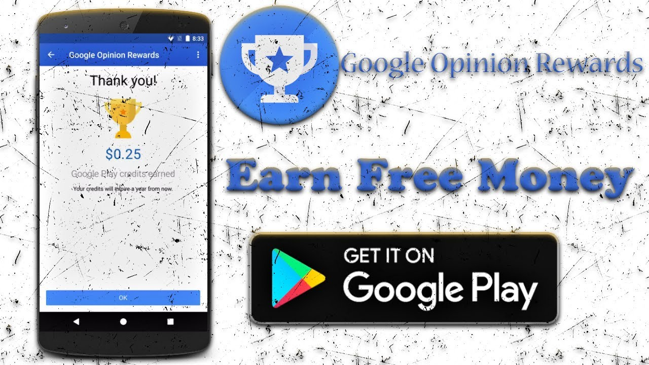 Install Google Opinion Rewards And Earn Free Money Earn