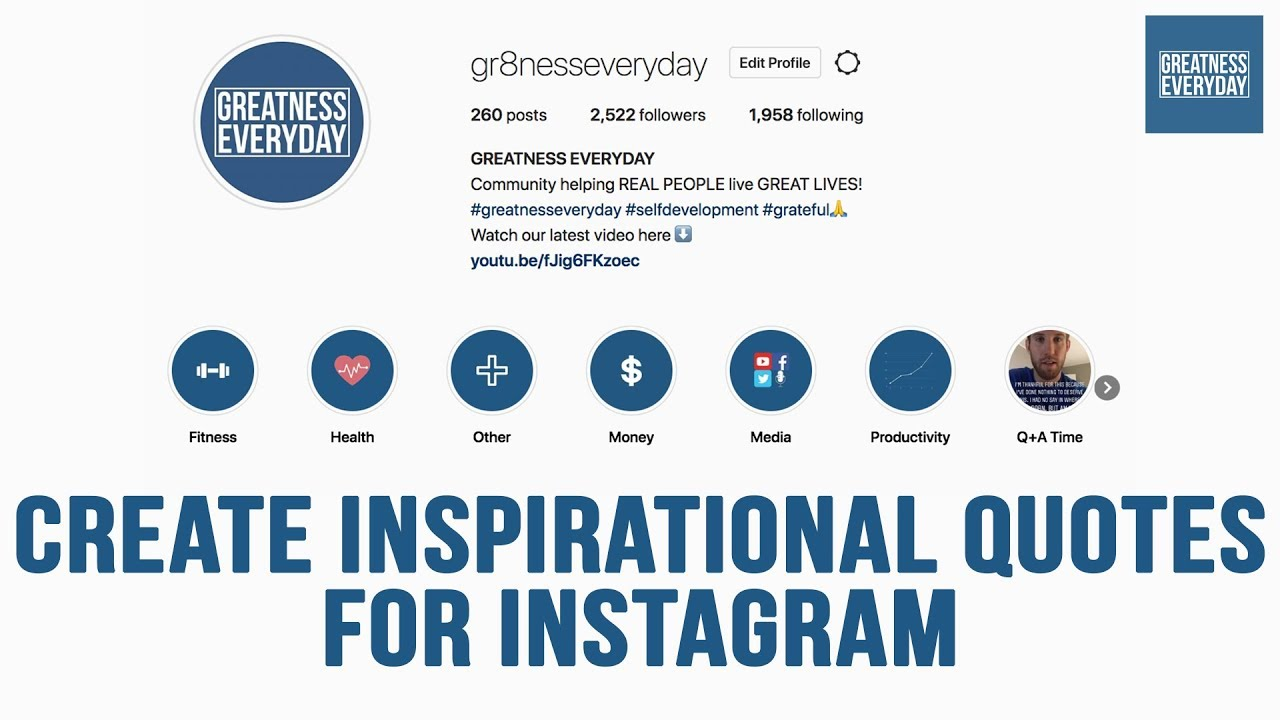 How to Create Inspirational Quotes for Instagram (Start to Finish)