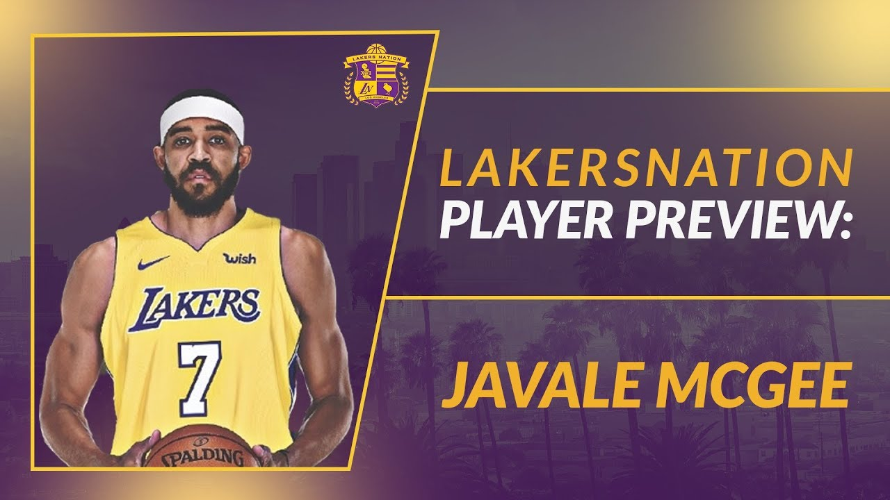 38124ad5813 Lakers Season Preview  JaVale McGee - YouTube