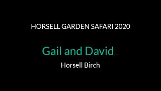 Gail and David - Horsell Birch