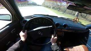 1984 Mercedes-Benz 230E (W123) POV TEST Drive