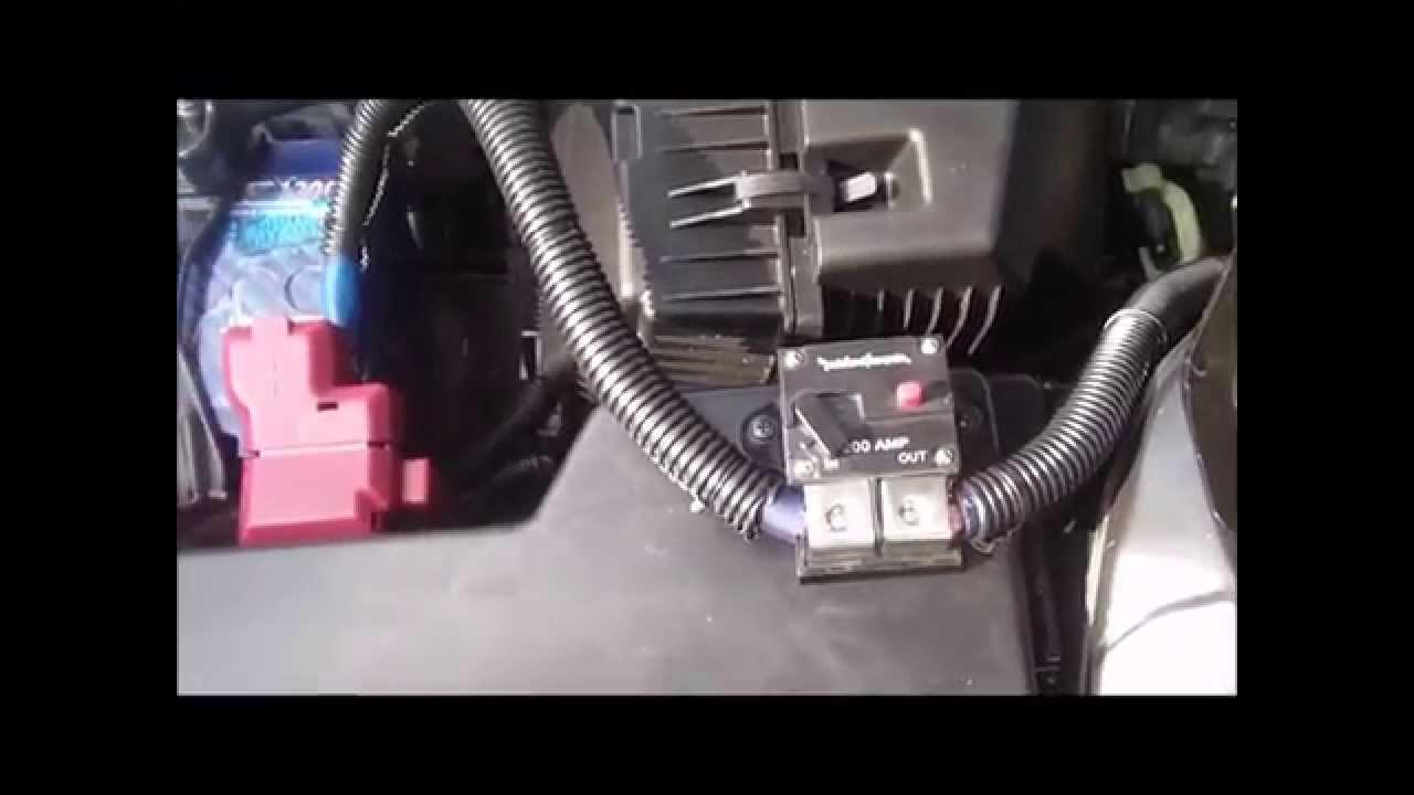 2009 Nissan Altima RadioAmp Install  YouTube